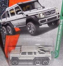 MATCHBOX TREASURE HUNT (1) 2017 MBX EXPLORERS - MERCEDES G63 AMG 6X6 (MOMC)