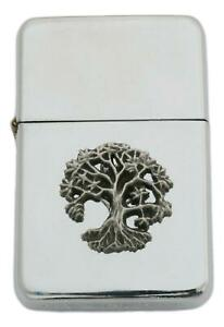 Tree of Life Petrol Lighter Windproof with Free Engraving Gift 515
