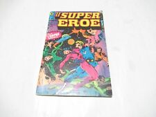 IL SUPEREROE SUPER EROE N. # 1 CON ADESIVI ORIGINALE EDITORIALE CORNO 1978 !!