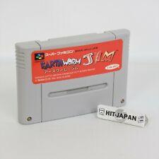 Super Famicom Earthworm Jim Cartridge Only Nintendo 131 sfc