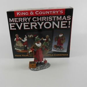 King & Country GI Santa XM009-1 Mint Boxed Soldier Figure