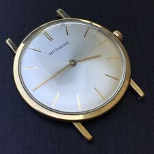 Vintage Longines Wittnauer Ultra Thin Admiral/1200 All Proof 14K GF Dress Watch