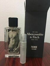 Abercrombie & Fitch FIERCE Men's Cologne  5 ml  sample free shipping