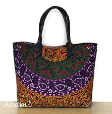 New Handbags Indian Mandala Tote Shoulder Bag Hippie Cotton Women Shopping Bags