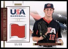 ET 2012 USA Baseball 18U National Team Jerseys #19 Garrett Williams #59/99