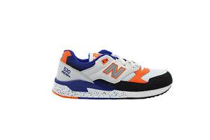 [M530PSC] New Balance 530 Mens Running Sneakers White/Orange-Royal