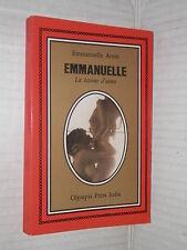 EMMANUELLE La lezione d uomo Emmanuelle Arsan Olympia Press 1974 romanzo libro