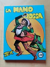 """Tex n.1 """"La mano rossa"""" L. 800 con sovrapprezzo bollino L.2300 RARO"""