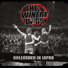 Winery Dogs Unleashed Japan WINERY DOGS 2 CD SET ( DREAM THEATER )