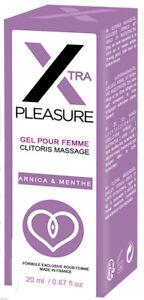 Xtra PLEASURE CLITORIS GEL Massage Cream CLIT Women CLIMAX Orgasm Sex RUF