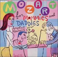 Mozart for Mommies and Daddies: Jumpstart your Newborn's IQ CD NEW