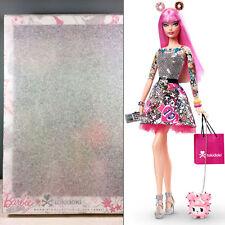 2015 tokidoki Barbie Doll - Black Label - Pink Hair Tattoos - NRFB in Tissue