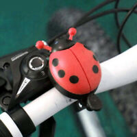 Cute Kids Beetle Ladybug Ring Bell For Cycling Bicycle Bike Ride Horn Alarm
