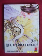 LEI  L'ARMA FINALE - N°7 -MANGA PANINI- ESAURITO- NUOVO - DISPONBILI N°1/7-TUTTI