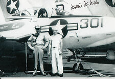 Hollis Hills Ace P-51 Mustang first pilot to down a German pilot SIGNED PHOTO