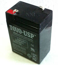 6 Volt 4.5 AH/20HR Sealed Lead Acid Emergency Light Rechargeable Battery 3FM4.5