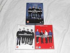 The Inbetweeners Series 1 & 2 PAL REGION 2 FORMAT DVD Set European in betweeners