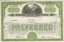 Appalachian Electric Power Company > Virginia stock certificate