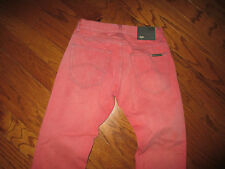 WOW! Men's Armani Exchange Red/Pink  Jeans Sz 29x32 Looks AWESOME!