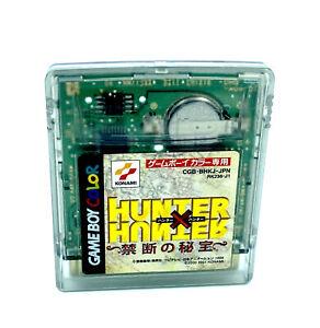 Hunter X Hunter Import Japon Jeu Nintendo Game Boy Color NTSC-J JAP