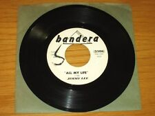 """BLUES 45 RPM - JIMMY LEE - BANDERA 2506 - """"ALL MY LIFE"""" + """"CHICAGO JUMP"""""""