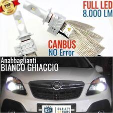 Kit Lampade Luci FULL LED OPEL MOKKA X H7 6500K CANBUS fari xenon tuning accesso