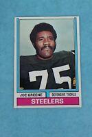 1974 TOPPS #40 JOE GREENE PITTSBURGH STEELERS FOOTBALL TRADING CARD