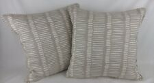 """John Lewis Brush Strokes Pillow Cushion Covers Piped 16"""""""