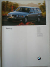 BMW 3 Series Touring brochure 1996 Ed 2