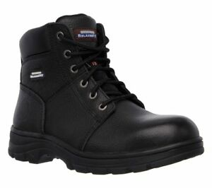 Skechers Work Relaxed Fit - Workshire ST Safety Boots 77009EC Mens Memory Foam