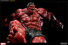 SIDESHOW RED HULK (1ST VERSION) RETAILER EXCLUSIVE