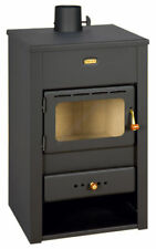 Wood Burning Stove Fireplace 10 kW Fireplace Log Burner Woodburning Prity K2