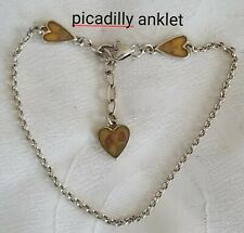 Brighton Picadilly inspirational heart anklet ankle bracelet B55