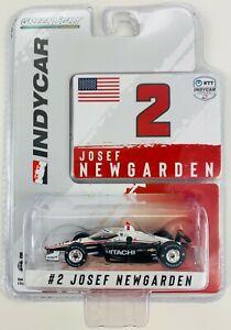 1:64 2021 Greenlight Josef Newgarden #2  Team Penske Hitachi  IndyCar Diecast