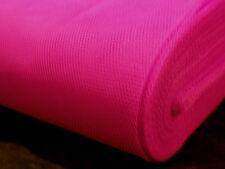 Fluorescente Rosa 80s Fancy Dress neto Tul material de tela metro de longitud de producto
