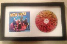 """NEON TREES """"POP PSYCHOLOGY"""" Signed Framed CD"""