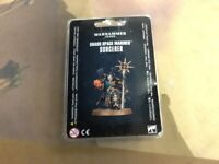 Chaos Space Marines Sorcerer 40K Warhammer Sealed
