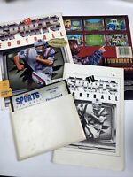 Commodore 64/128 TV Sports Football With Manual And Front And Back If Box
