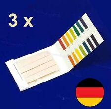 3x80 = 240 pcs 1-14 pH Wert Test Teststreifen Indikatorpapier Strips Wassertest