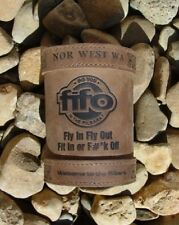 FiFO Pilbara Deluxe Leather Stubby Holder - Fit in or F#*K Off