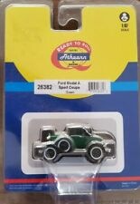 Athearn 1:87th scale Ford Model A Sport Coupe Green 26382