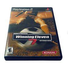 PS2 World Soccer Winning Eleven 7 International Sony PlayStation 2 2004 Game