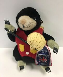Vintage Merrythought Collectable Mole Soft Toy Made Exclusively For Harrods #372