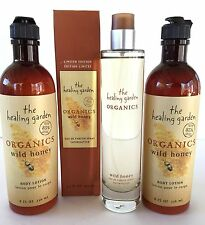 THE HEALING GARDEN ORGANICS WILD HONEY EAU DE PARFUM SPRAY LOTIONS