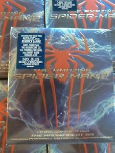 THE AMAZING SPIDER-MAN 2 Deluxe 2CD SEALED/NEW Pharrell Spiderman soundtrack OST