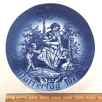 1978 MOTHER'S DAY BAREUTHER LIMITED EDITION PORCELAIN PLATE BAVARIA GERMANY