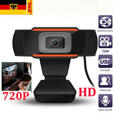 HD 720P Webcam Mikrofon Kamera für Computer PC Laptop Notebook Mac Winows DHL