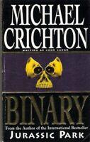 Binary by Michael Crichton writing as John Lange Paperback Book The Fast Free