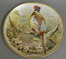 Wandteller Franklin porcelain, Limoges Ring-necked pheasant #5