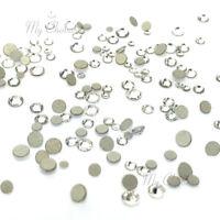 144 mixed tiny sizes ss3-ss10 Swarovski 2058 Flatback nail art clear CRYSTAL 001